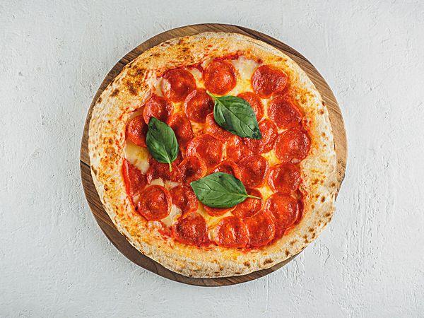 Пицца на дровах