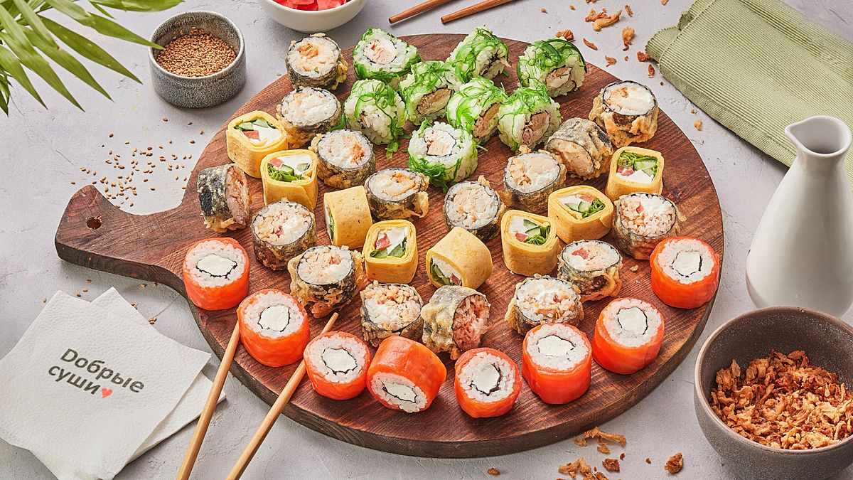 Dобрые суши